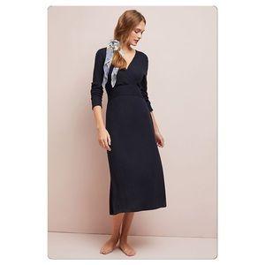 NWT Anthropologie Cloudfleece Midi Dress